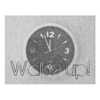 Wake Up! Postcard