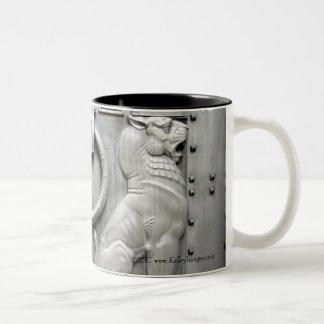 Wake Up Screaming Two-Tone Coffee Mug