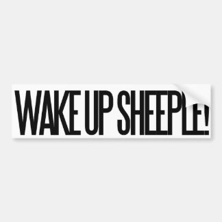 Wake up Sheeple Bumper Sticker