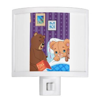 Wake Up Sleepy Bear Night Light