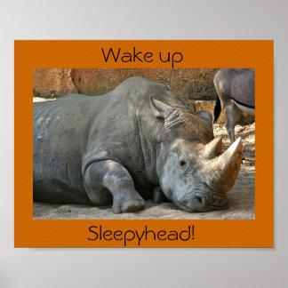 Wake up, Sleepyhead! Poster