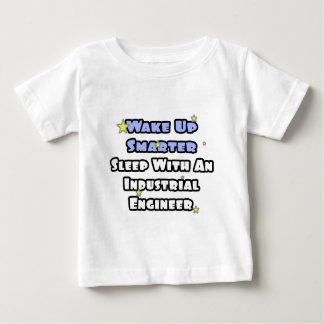 Wake Up Smarter..Sleep With an Industrial Engineer Baby T-Shirt