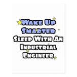 Wake Up Smarter..Sleep With an Industrial Engineer Postcard