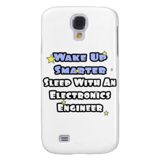 Wake Up Smarter...Sleep With Electronics Eng Galaxy S4 Case