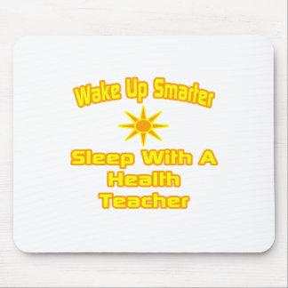 Wake Up Smarter Sleep With Health Teacher Mousepads