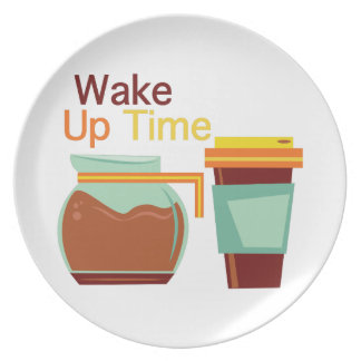 Wake Up Time Plates