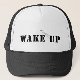 WAKE UP TRUCKER HAT