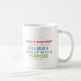 Wake Up With a Purpose Coffee Mug