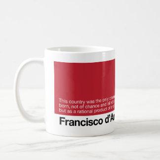 Wake Up World Atlas d'Anconia 1 Classic White Coffee Mug