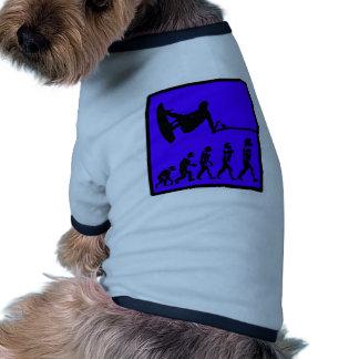 Wakeboard Azul Progress Dog T Shirt