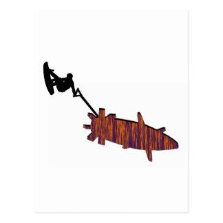 Wakeboard Bomb Diggity Postcard