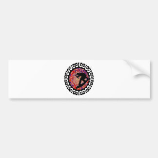 WAKEBOARD CABLE PARKS BUMPER STICKER