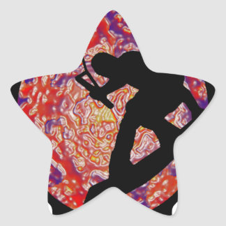 WAKEBOARD CABLE PARKS STAR STICKER