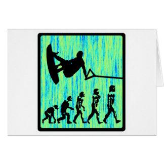 Wakeboard diseñó la evolución felicitación
