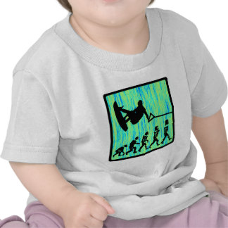 Wakeboard diseñó la evolución camiseta