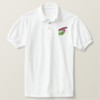 Wakeboard Embroidered Polo Shirt