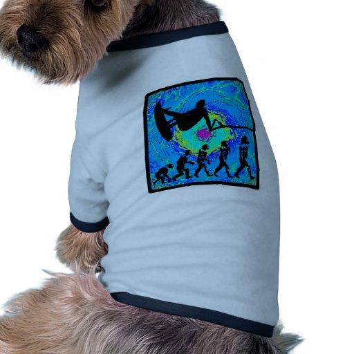 Wakeboard Evolving Colors Doggie Tshirt