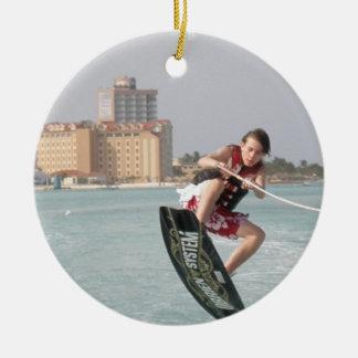 Wakeboard Jump Ornament