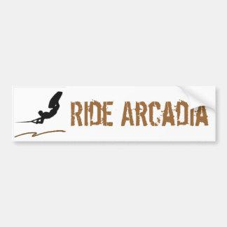 Wakeboard Lake Acradia Bumper Sticker