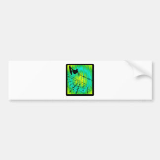 Wakeboard Lime Greenspeed Bumper Stickers