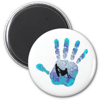 Wakeboard OF BELIZE 2 Inch Round Magnet