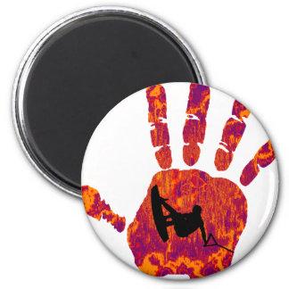 Wakeboard Palm Blazer 2 Inch Round Magnet