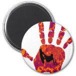Wakeboard Palm Blazer Magnet