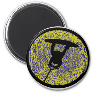 Wakeboard Raley Rift 2 Inch Round Magnet
