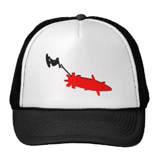 Wakeboard Red Clouds Trucker Hat