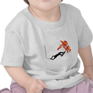 Wakeboard siempre enterado camisetas