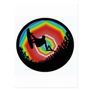 Wakeboard Sonic Sound Postcard