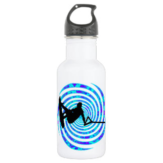WAKEBOARD SPIN IT STAINLESS STEEL WATER BOTTLE