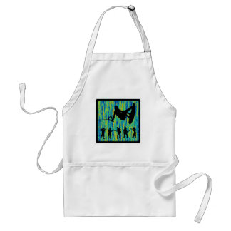 Wakeboard Spread Sounds Adult Apron