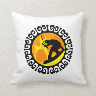 WAKEBOARD STAGE SETTER THROW PILLOW