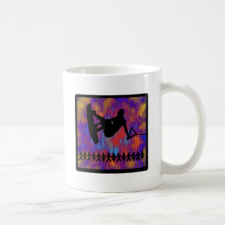 Wakeboard Suspended Animation Classic White Coffee Mug