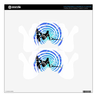 WAKEBOARD THE FLUIDITY PS3 CONTROLLER DECAL