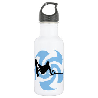 WAKEBOARD THUNDER BROUGHT STAINLESS STEEL WATER BOTTLE