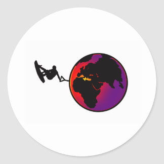 Wakeboard True World Stickers