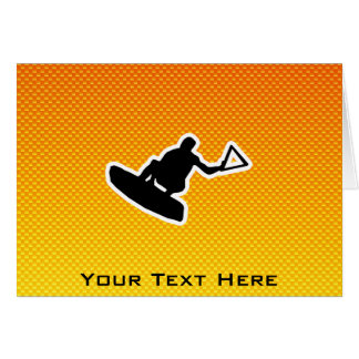 Wakeboarder Card
