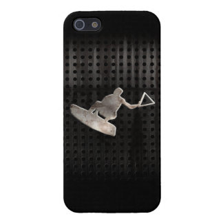 Wakeboarder; Cool Black Case For iPhone SE/5/5s