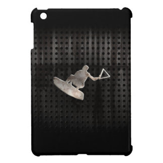 Wakeboarder; Cool Black iPad Mini Covers