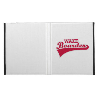 Wakeboarder iPad Case
