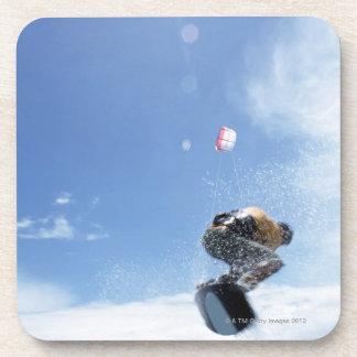 Wakeboarder Jumping Beverage Coaster