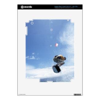 Wakeboarder Jumping iPad 3 Skins