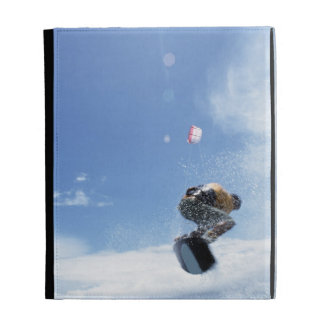 Wakeboarder Jumping iPad Folio Cases