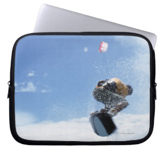 Wakeboarder Jumping Laptop Computer Sleeve