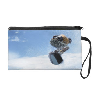 Wakeboarder Jumping Wristlet Purse
