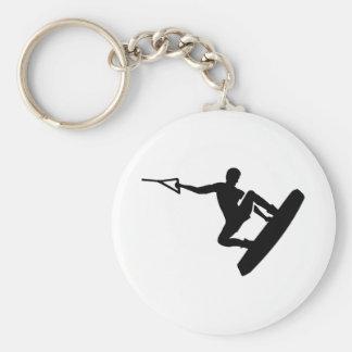 Wakeboarder Keychain