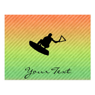 Wakeboarder Postcard