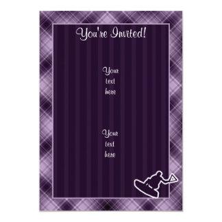 Wakeboarder púrpura comunicado personal